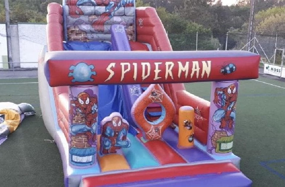 HINCHABLE SPIDERMAN MEDIANO